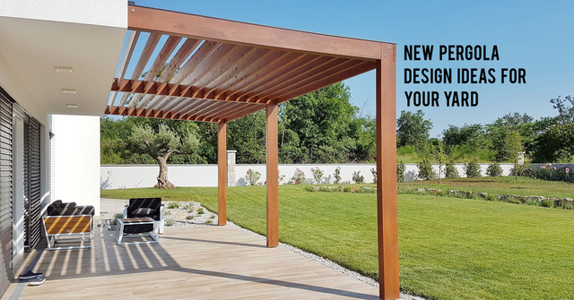 Awesome New Pergola Design Ideas For Your Luxury Dream Home