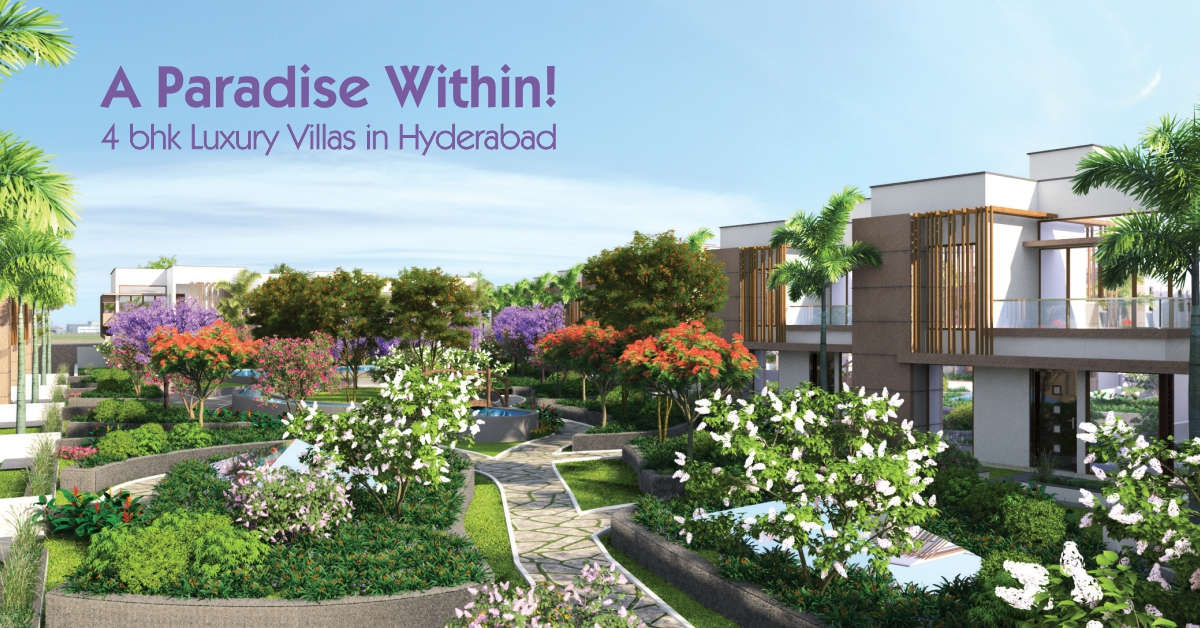 Hillside: A Paradise Within! 4 bhk Luxury Villas in Hyderabad